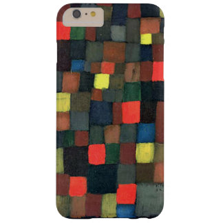 Klee - Abstract Color Harmony with Squares Barely There iPhone 6 Plus Case
