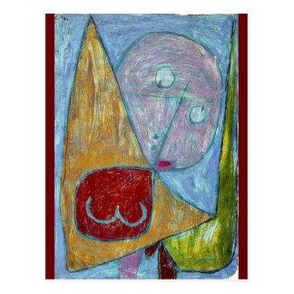 Klee - Angel Still Feminine Postcard
