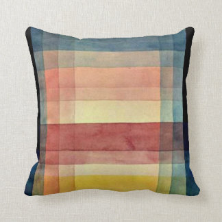 Klee - Architecture of the Plain Throw Pillow