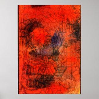"""Klee art: """"Groynes."""" Poster"""