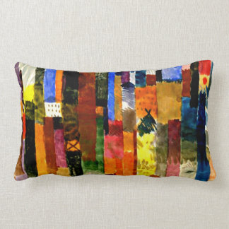 Klee - Before the Town Lumbar Pillow