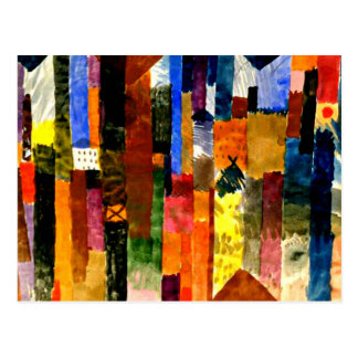 Klee - Before the Town Postcard
