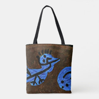 Klee - Blue Bird-Pumpkin Tote Bag