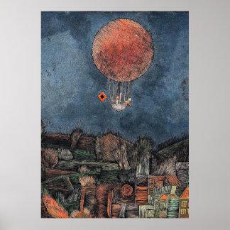 Klee - Der Luftballoon Poster