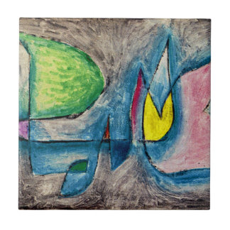 Klee - Group of Trees Tile