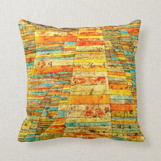 Klee - Highways and Byways Throw Pillow
