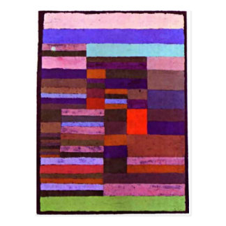 Klee - Individualized Altimetry of Stripes-1930 Postcard