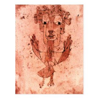 Klee - New Angel (Angelus Novus) Postcard