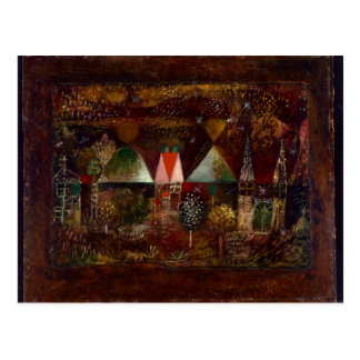 Klee - Night Feast Postcard