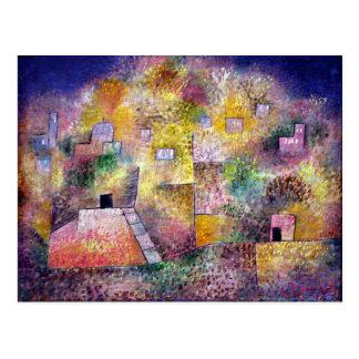 Klee - Oriental Pleasure Garden Postcard