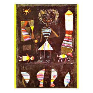 Klee - Puppet Theater Postcard