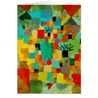 Klee - Southern (Tunisian) Gardens Card