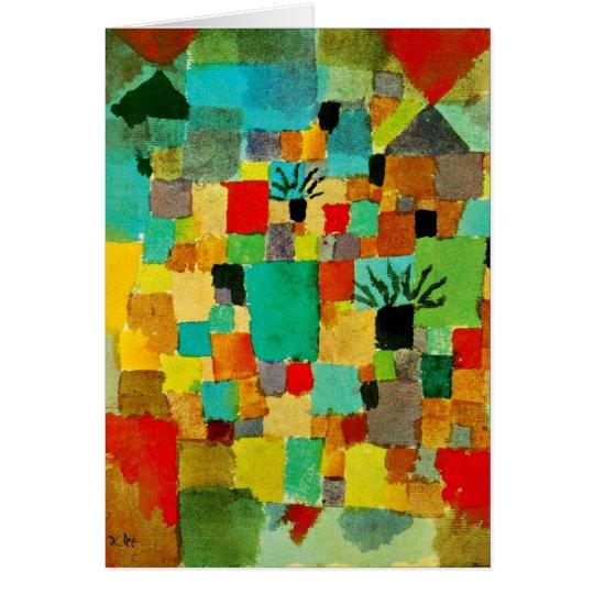 Klee - Southern (Tunisian) Gardens Card