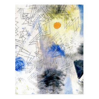 Klee - Targets in the Fog Postcard