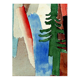 Klee - The Fir Postcard