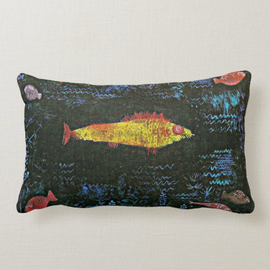 Klee - The Goldfish Lumbar Pillow