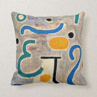 Klee: The Vase abstract art Throw Pillow