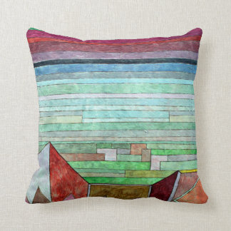 Klee - View into the Fertile Country Throw Pillow