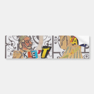 Kleft Jaw Bumper Sticker