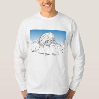 Klein Hang-Klip Mountain, Rooiels. Blue Sky. T-Shirt