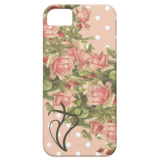 Klein Roses Christian iPhone 5 Case-Pink Dots Case For The iPhone 5