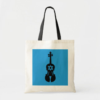 Klezmer Fiddle Tote Bag