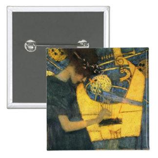 Klimt 2 Inch Square Button