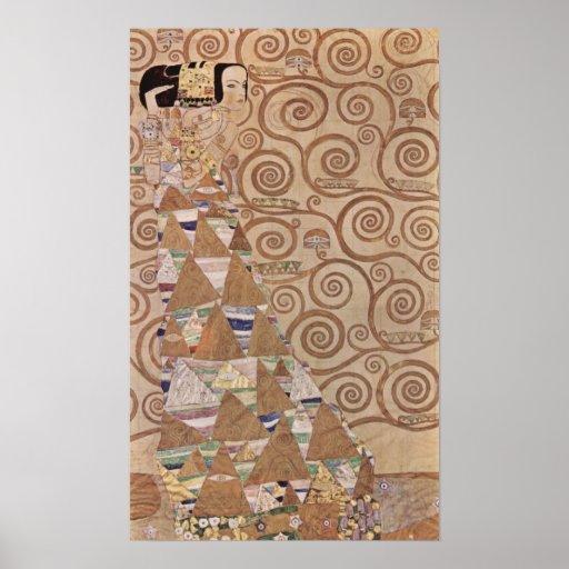 Klimt ~ Anticipation Poster