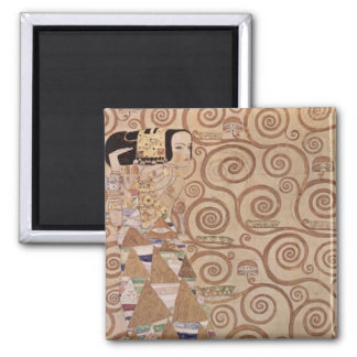 Klimt ~ Anticipation Square Magnet