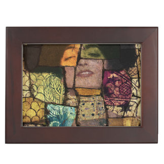 Klimt art Stylization Keepsake Box