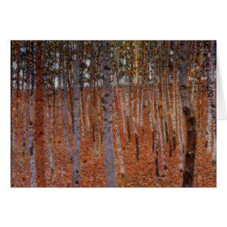 Klimt Beechwood-Forest Card