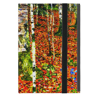 Klimt - Birch Forest, painting by Gustav Klimt iPad Mini Cover
