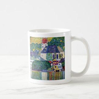 "Klimt, ""Church in Unterach at the Atter"" Coffee Mug"