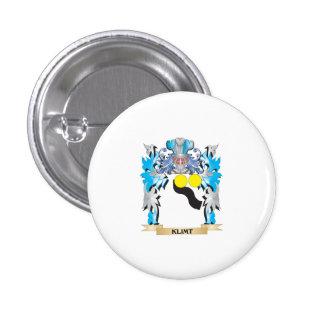 Klimt Coat of Arms - Family Crest Button