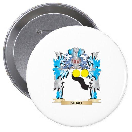 Klimt Coat of Arms - Family Crest Pins
