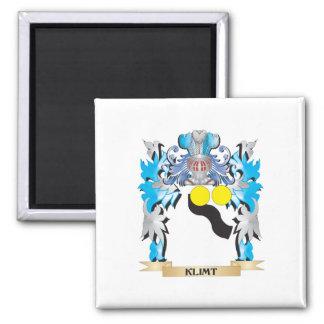 Klimt Coat of Arms - Family Crest Fridge Magnets