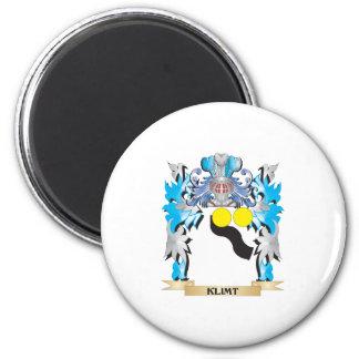 Klimt Coat of Arms - Family Crest Refrigerator Magnet