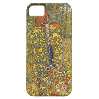 Klimt Farm Garden with Crucifix iPhone 5 Case