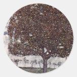 Klimt, Gustav: Apfelbaum II Sticker