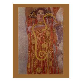 Klimt hygeia postcard