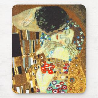 Klimt : Le baiser Tapis De Souris