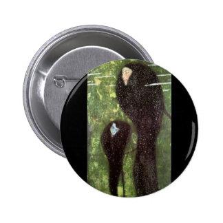 Klimt ~ Mermaids 2 Inch Round Button