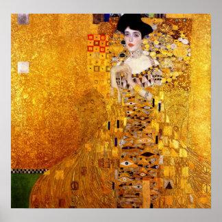 Klimt Portrait of Adele Bloch-Bauer Poster