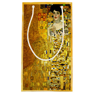 Klimt - Portrait of Adele Bloch-Bauer Small Gift Bag
