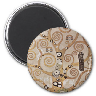 Klimt -  Stocletfries 2 Inch Round Magnet