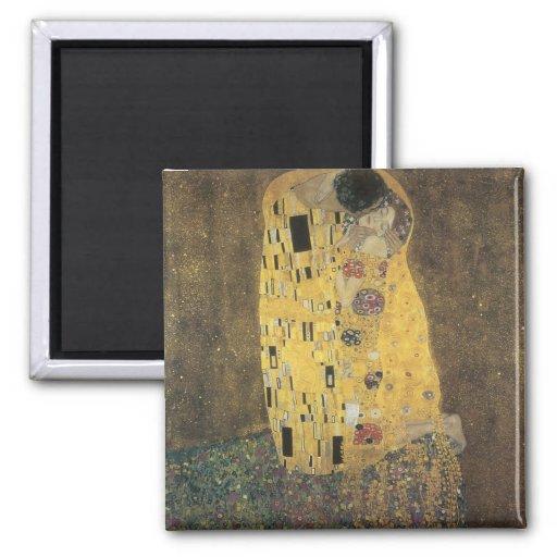 Klimt, The Kiss Fridge Magnet