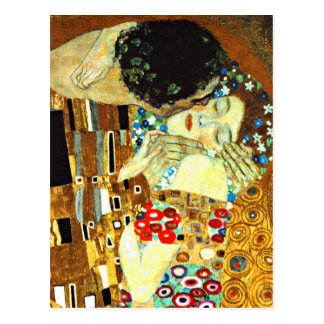 Klimt - The Kiss Postcard