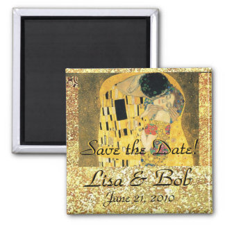 Klimt The Kiss Save the Date Magnet
