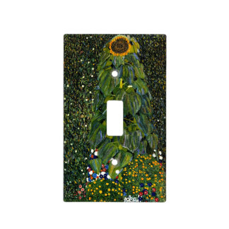 Klimt - The Sunflower Light Switch Cover