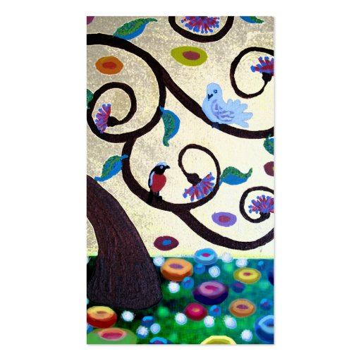 Klimt  tree pack of standard business cards